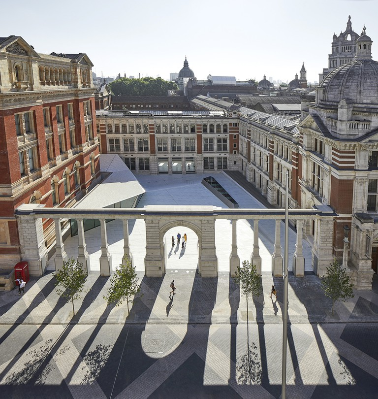 The V&A's new Exhibition Road Quarter designed by AL_A | © Hufton+Crow
