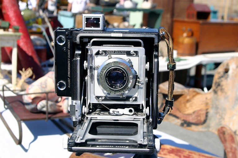 AntiqueSpeed Graphic camera | © George Kelly / Flickr