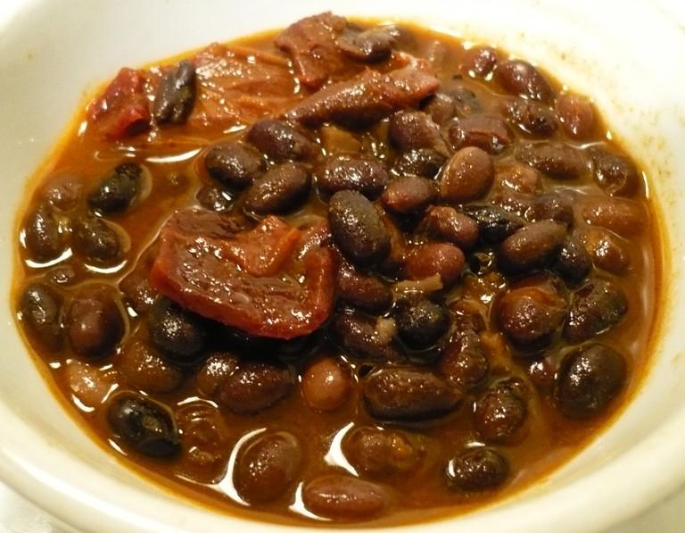Alubias de Tolosa - Basque cuisine   ©Badagnani / Wikimedia Commons