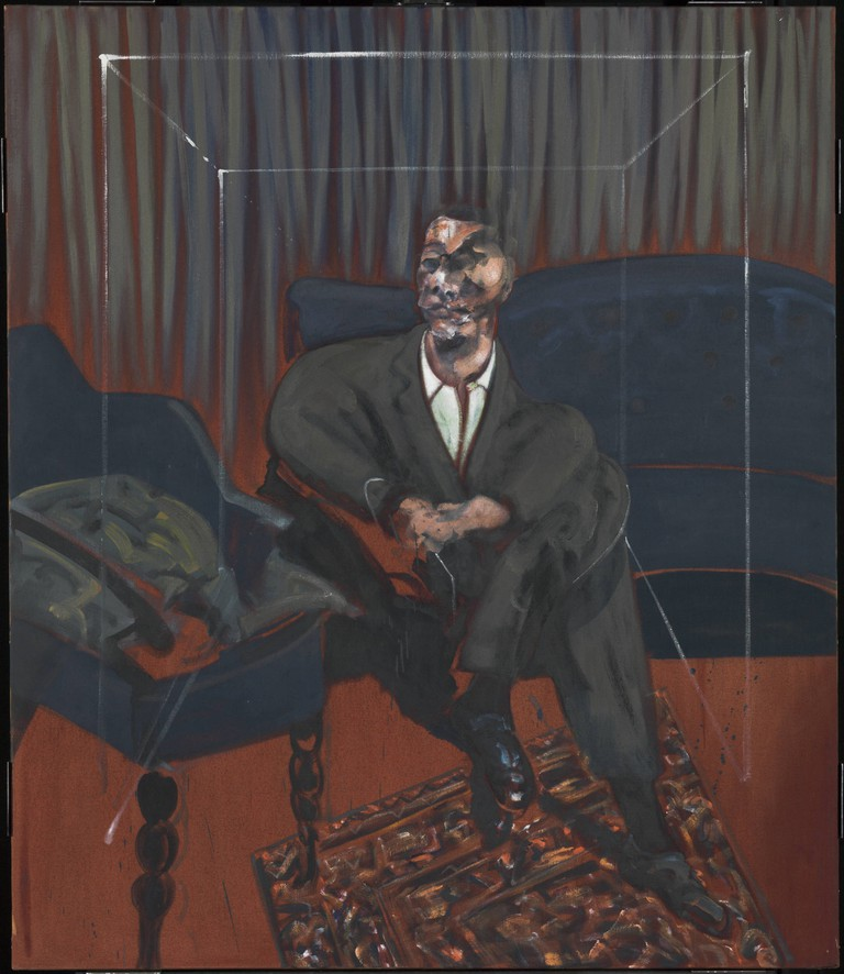 Francis Bacon, Seated Figure, 1961. Tate, Presented by J. Sainsbury Ltd 1961