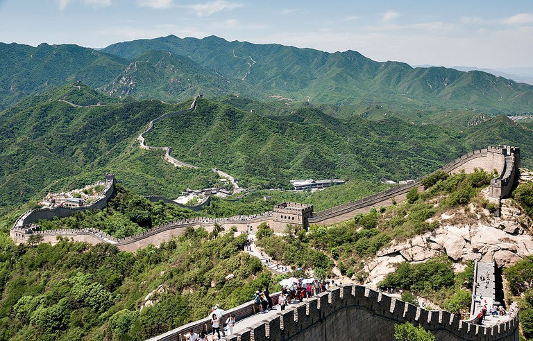 Great Wall of China at Badaling