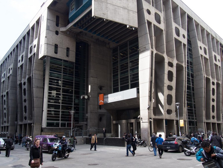 Banco Hipotecario, Microcentro, Buenos Aires