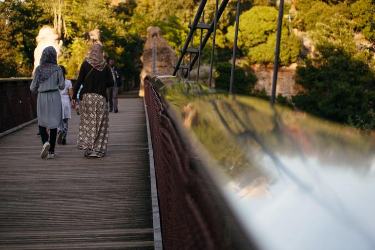 Bridge at Parc des Buttes Chaumont │© Kim Grant for Culture Trip