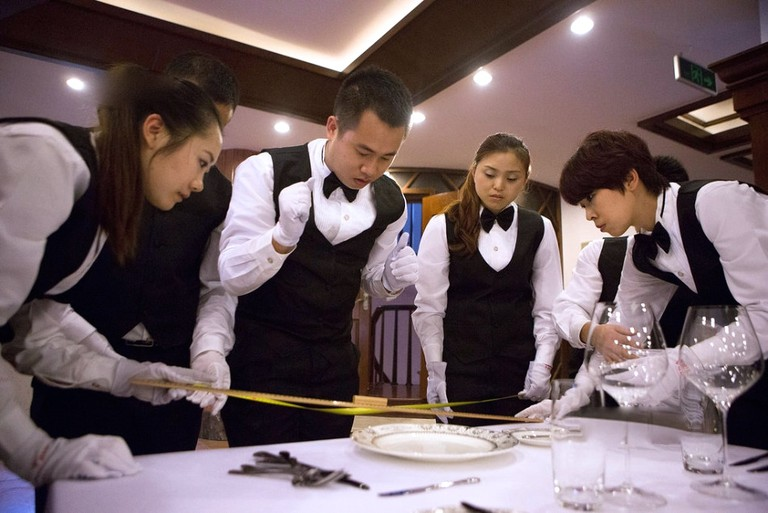 Butlers in demand in China