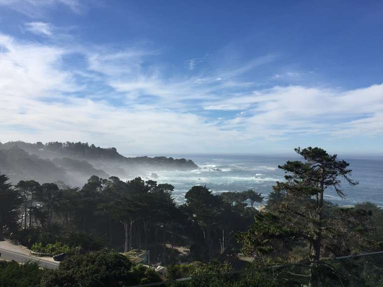 View from Hyatt Carmel Highlands