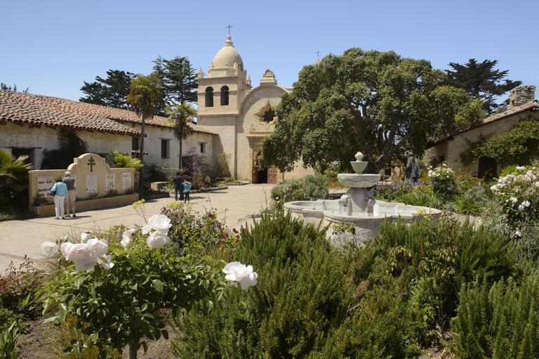 Carmel Mission, Monterey