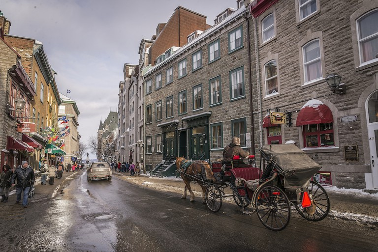Quebec City during Carnaval