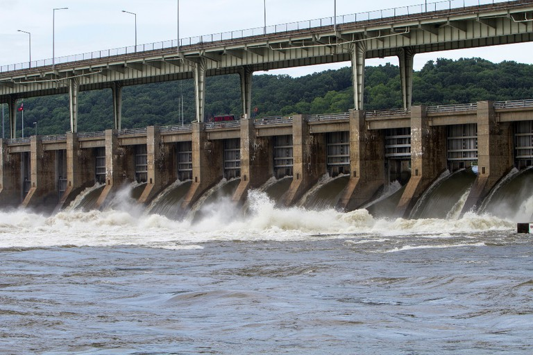 Chickamauga Dam in Chattanooga / (c) Tennessee Valley Authority / Flickr