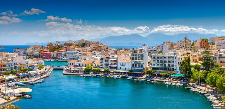 Agios Nikolaos is a picturesque town
