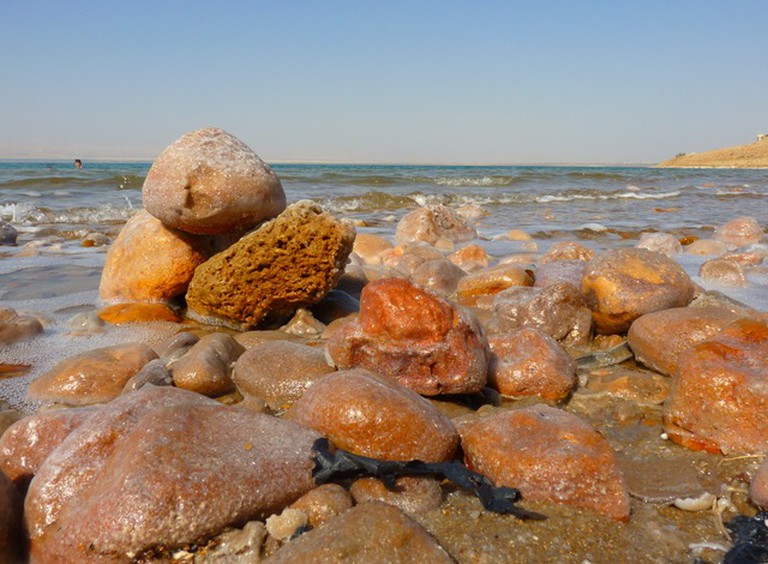 The Dead Sea is 8.6 times saltier than the ocean