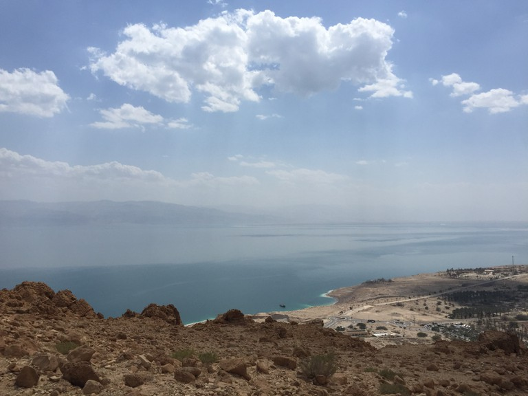 Overlooking the Dead Sea. Photo: Becca Gomby