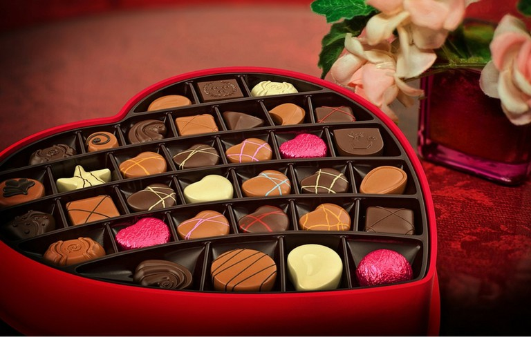 Chocolates on Valentine's Day   Pixabay