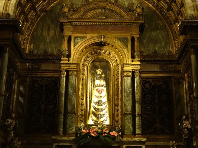 The Black Madonna in Loreto