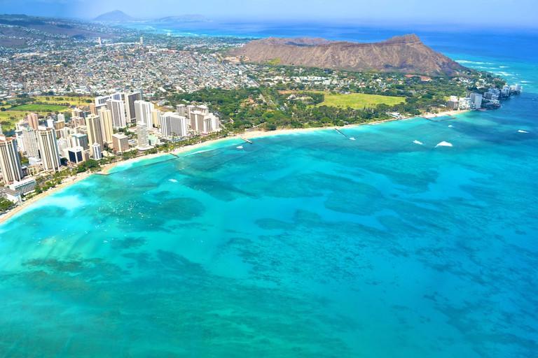 Aerial Views of Waikiki