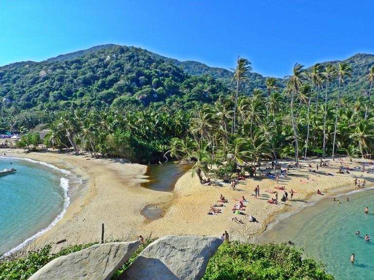 The mirrored beaches of Tayrona National Park