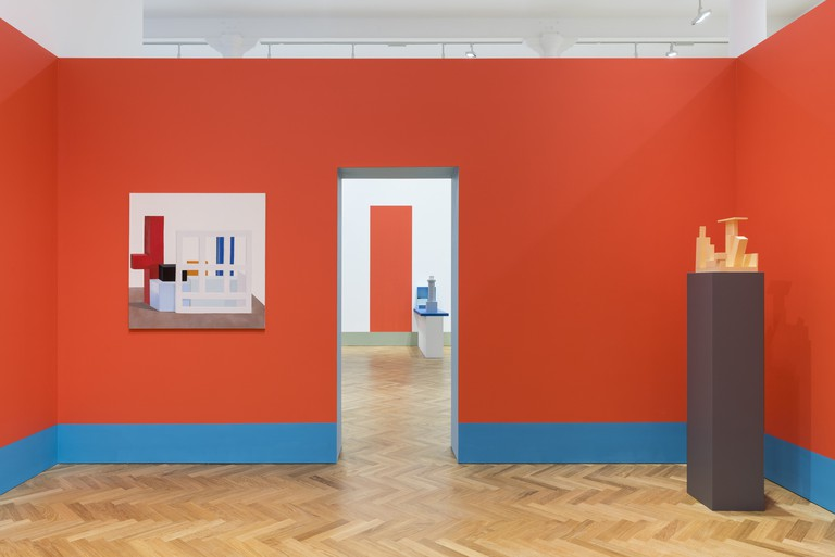 'Nathalie Du Pasquier: From time to time' installed at Pace London, 2017