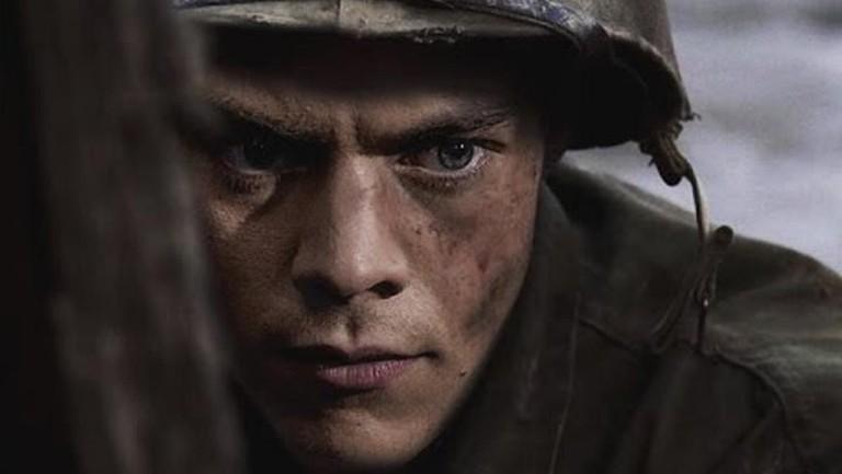 Harry Styles as Alex in Dunkirk