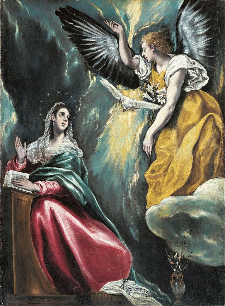 The Annunciation, El Greco