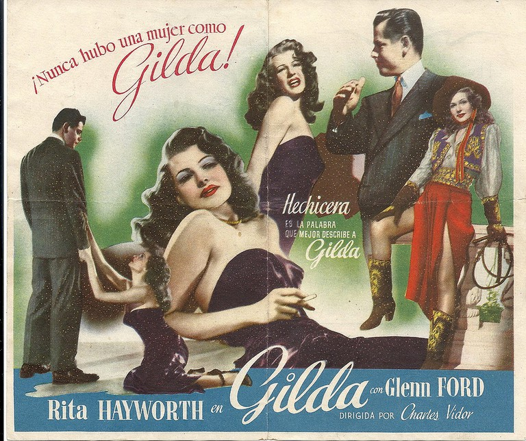 The biggest star of Argentine cumbia got her name, Gilda, from the Rita Hayworth film