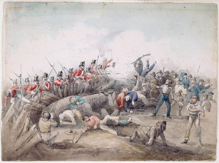 Eureka stockade battle