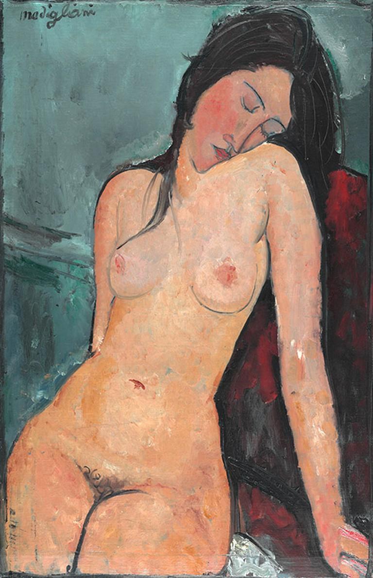 'Female Nude', Amedeo Modigliani, c.1916