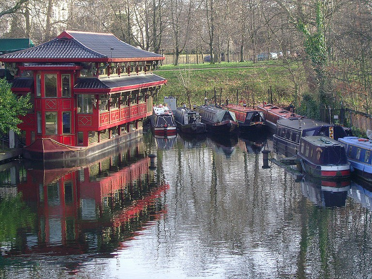 Feng Shang Princess floating restaurant in the Cumberland Basin