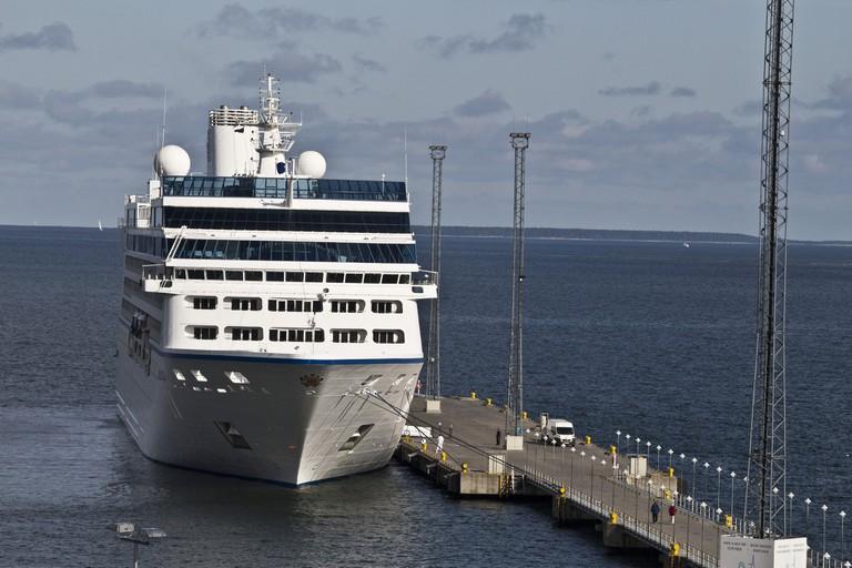 Ferry in Finland