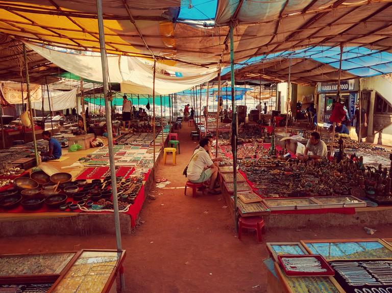 Calangute Bazaar