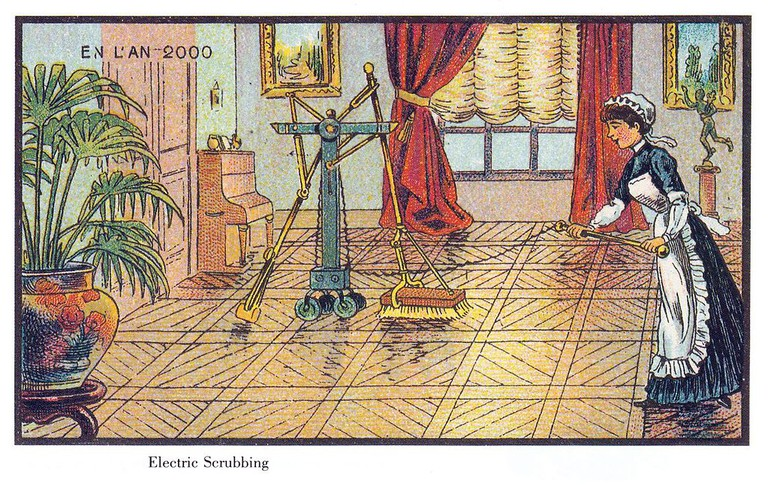 France in the year 2000 – Electric scrubbing │© Jean-Marc Côté / Wikimedia Commons
