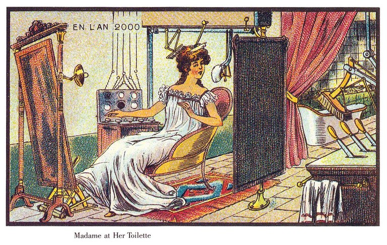 France in the year 2000 – Toilette madame │© Villemard / Wikimedia Commons