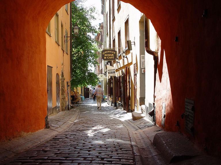 Take a free walking tour of Stockholm