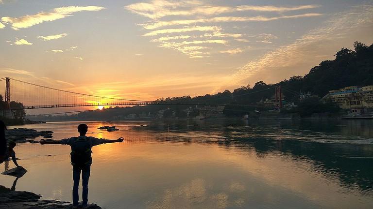 Embrace the Ganges River