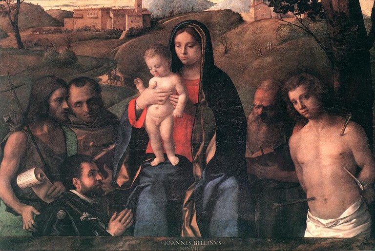 Madonna and Child by Bellini
