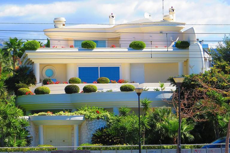 Typical beach villa in Glyfada