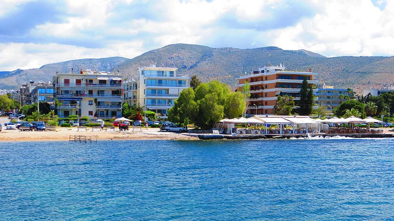 View of Glyfada waterfront