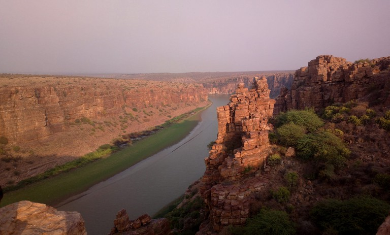 Grand Canyon formed by Penna River
