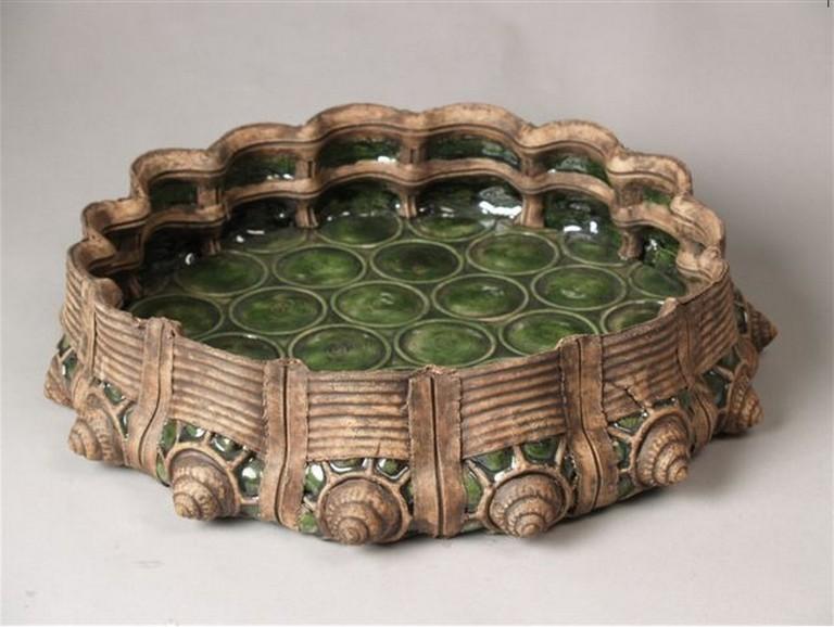 Wietske van Leeuwen: Green Glass Bowl, 1997