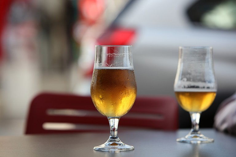 Enjoy the cheapest beer of your life at Mercado Provenzal I