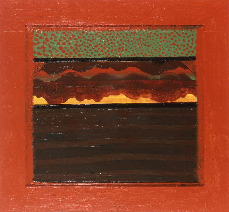 Howard Hodgkin, Bombay Sunset, 1972-1973