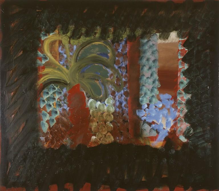 Howard Hodgkin, In the Garden of the Bombay Museum, 1978-1982
