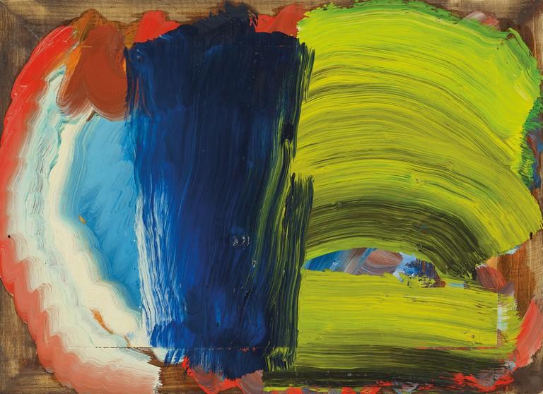 Howard Hodgkin, Letters from Bombay, 2012-2014