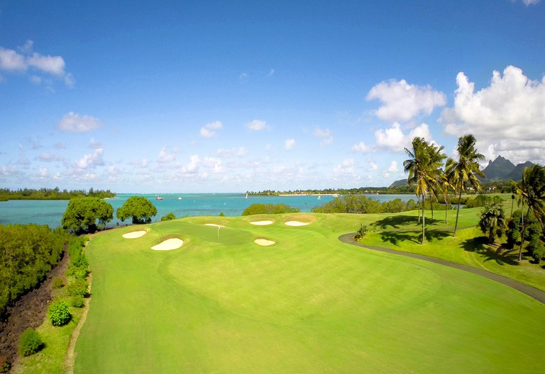 A view of the famous Anahita Resort & Spa's golf course