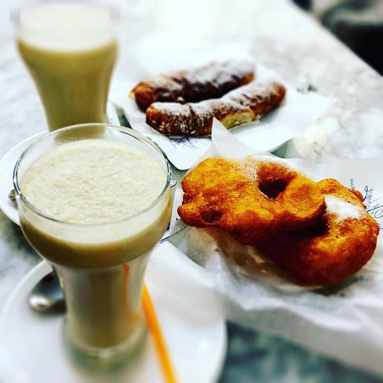Horchata mixta