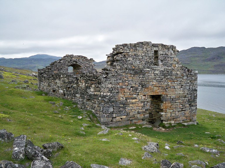 The remains of Hvalsey Church / Public domain / WikiCommons