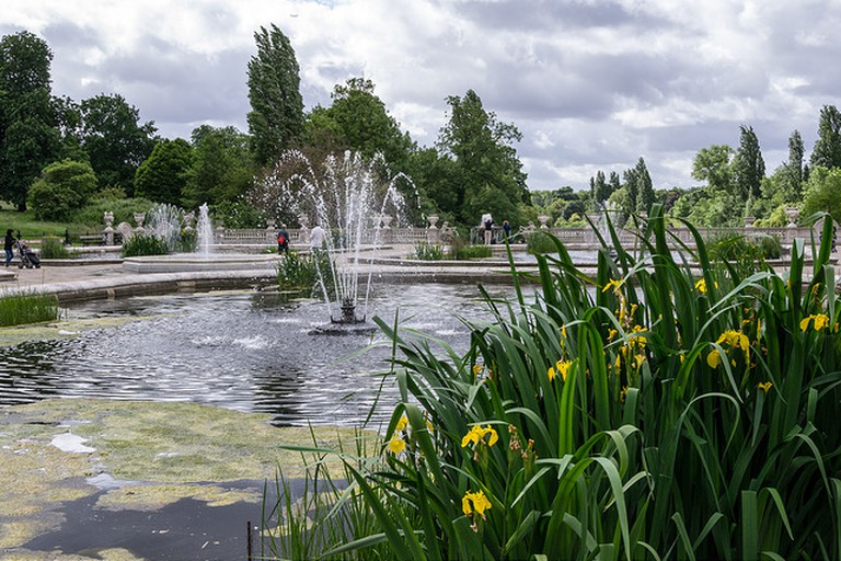 Fountains in Hyde Park