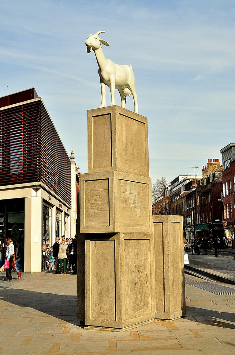 I Goat by Kenny Hunter, 2010