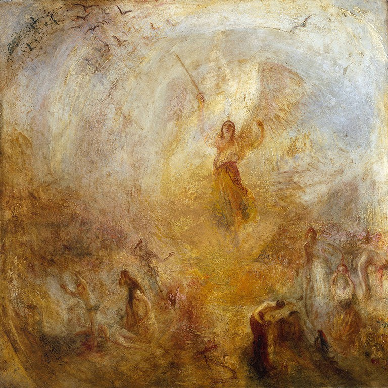JMW Turner, The Angel Standing in the Sun, exhibited 1846