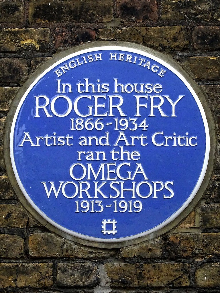 Roger Fry's Blue Plaque