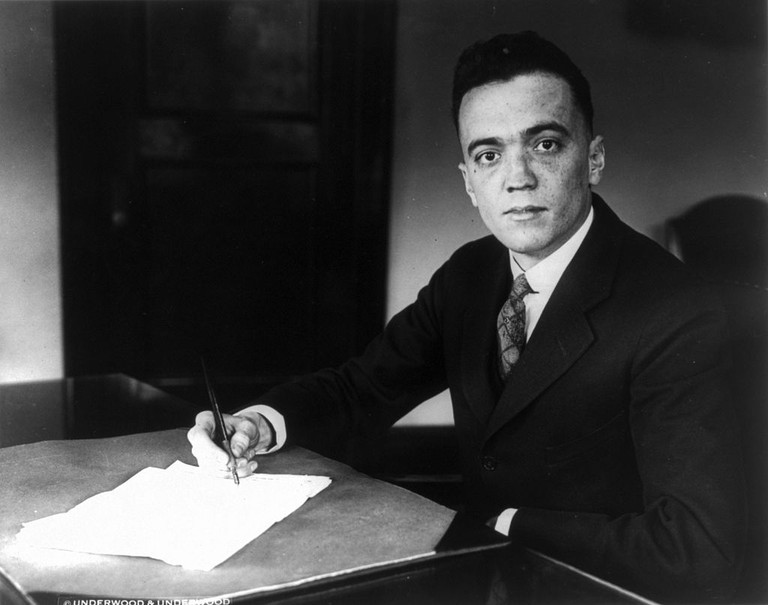 J. Edgar Hoover, Director of the FBI, May 16, 1932 | © Underwood & Underwood/ WikiCommons