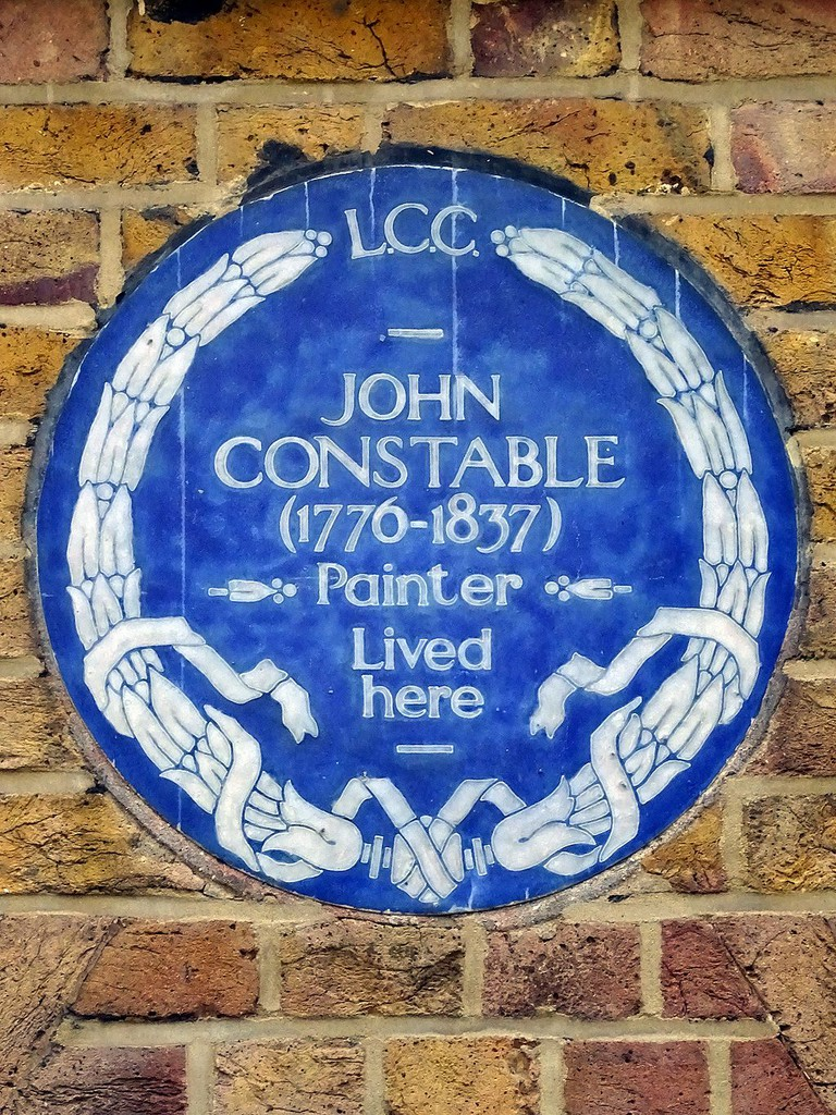 John Constable's Blue Plaque